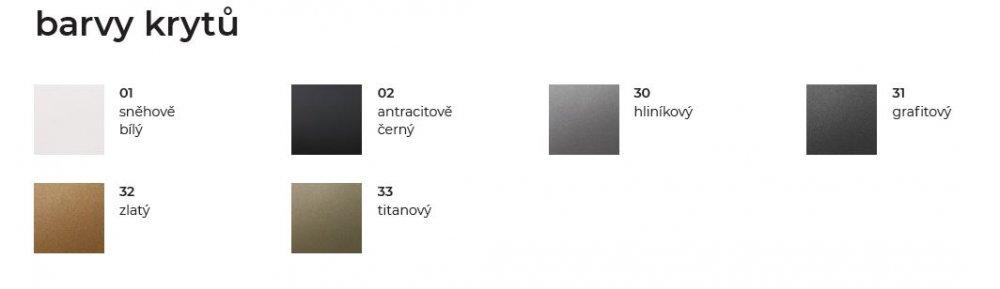 Barvy krytů řady VARIANT